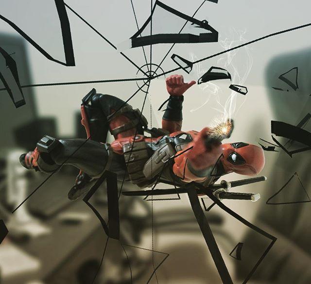 「あっ、やべっw」#豆魚雷オモ写#オモ写#デッドプール#Deadpool#マーベル#一眼レフ#海洋堂#ファインダー越しの私の世界#フィギュア #リボルテック#Revoltech#marvel#toysphoto#toysphotography#l4l#figure#toyplanet#9000d