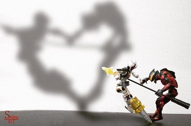 「喧嘩する程仲がいい️」#豆魚雷オモ写#オモ写#仮面ライダー#フォーゼ#ウルトラマン#ベリアル#一眼レフ#ファインダー越しの私の世界#フィギュアーツ #フィギュアーツ写真部#フィギュア撮影友の会#特撮 #フィギュア #ミニチュア#影絵#maskedrider #figma#toycrewbuddies#toyoutsiders#toysphoto#toysphotography#figure#figmaniatfigurine#figmagram#toyplanet#toyoutsiders#9000d