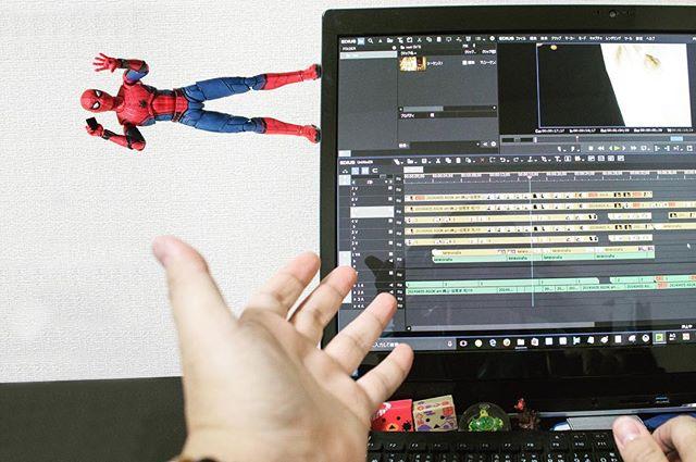 「完成まであと五分ね」#豆魚雷オモ写#オモ写#スパイダーマン#Spiderman#figma#マーベル#一眼レフ#ファインダー越しの私の世界#フィギュア#marvel#toysphoto#toysphotography#figure#toyplanet#9000d