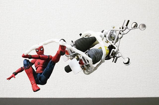 やっぱりスパイダーマンはポージングしやすいですね(●´ω`●)#オモ写#スパイダーマン#Spiderman#figma#マーベル#一眼レフ#ファインダー越しの私の世界#フィギュア#marvel#toysphoto#toysphotography#figure#toyplanet#9000d
